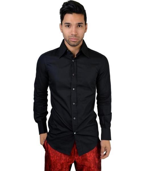 Dolce & Gabbana Men's Button Down Dress Shirt