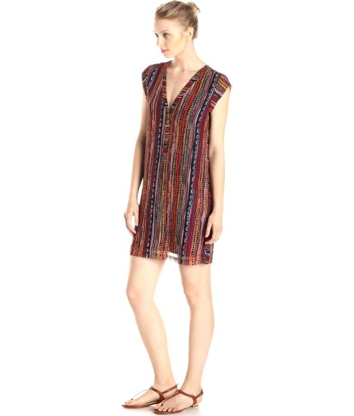 Sam Edelman Side Button Down Dress Multi