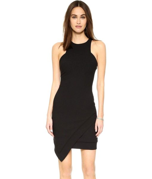 Elizabeth and James Claire Dress in Black