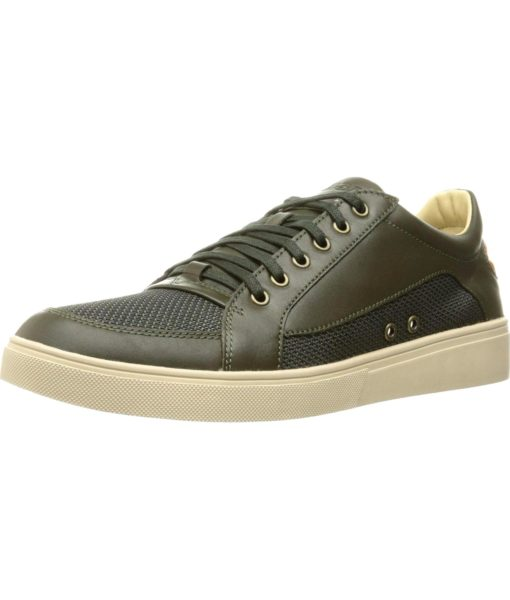 Diesel Fashionisto S-Groove Low Fashion Sneaker in Forest Night and Cuoio