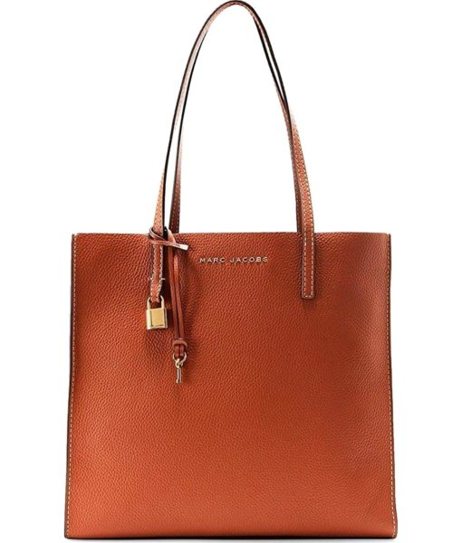 Marc Jacobs The Grind East / West Shopper Saddle Handbag