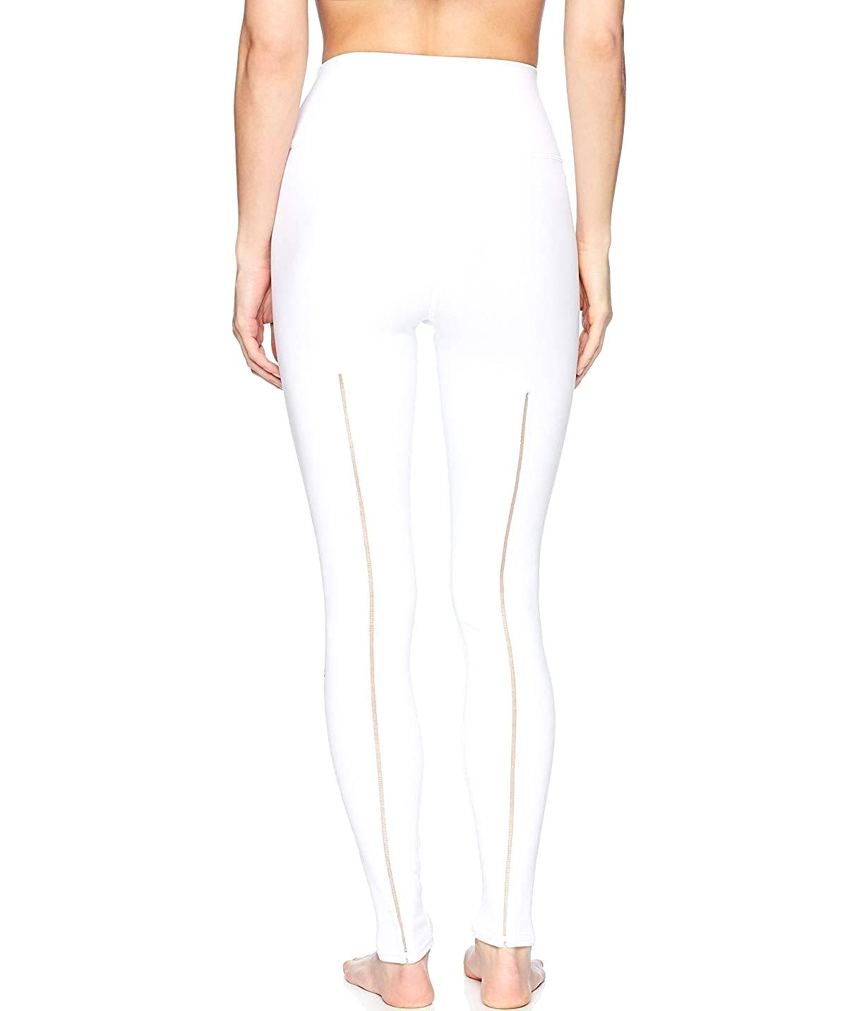 2f6bb7fbbb High-Waist Dash Legging in White - Authentic Designer Clothes