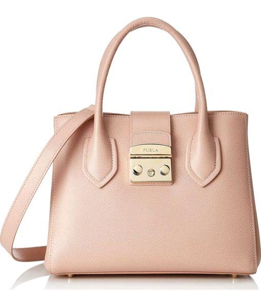 Furla Pink Metropolis Handbag