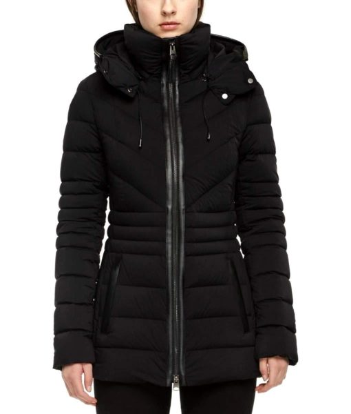 Mackage Mackage Women's Patsy Matte Down Jacket in Black